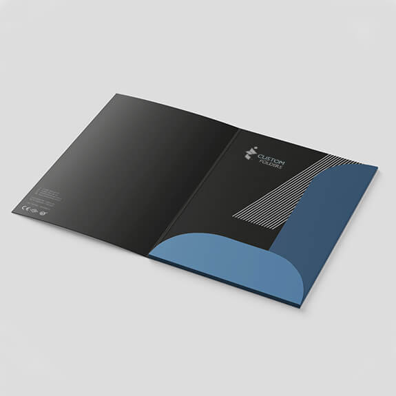 best printed folders for your business